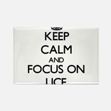 Keep Calm and focus on Lice Magnets