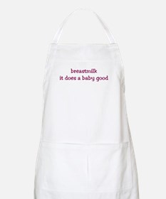 breastmilk: it does a baby good BBQ Apron
