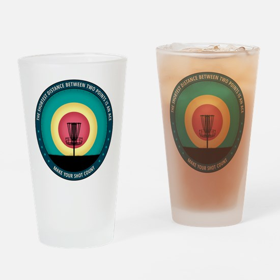 Make Your Shot Count Drinking Glass
