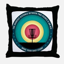 Make Your Shot Count Throw Pillow