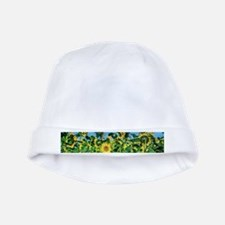 Sunflower Field baby hat