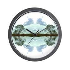 Sky to Earth Wall Clock