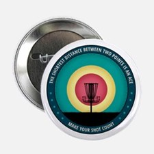 """Make Your Shot Count 2.25"""" Button (100 pack)"""