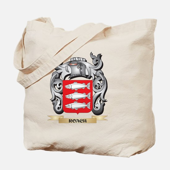 Roach Coat of Arms - Family Crest Tote Bag