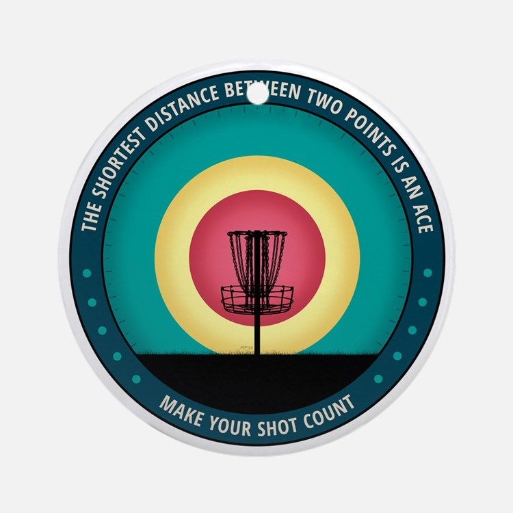 Make Your Shot Count Ornament (Round)