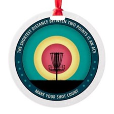 Make Your Shot Count Ornament