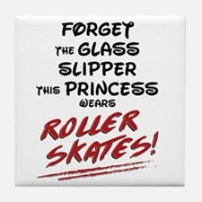 Roller Princess Tile Coaster