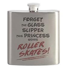 Roller Princess Flask