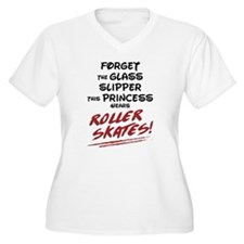 Roller Princess Plus Size T-Shirt