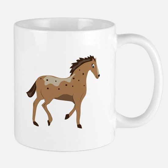 Spotted Pony Mugs