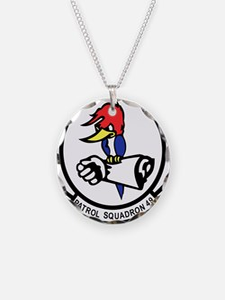 Unique Navy p3 Necklace