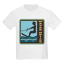 Waterskiing Logo T-Shirt