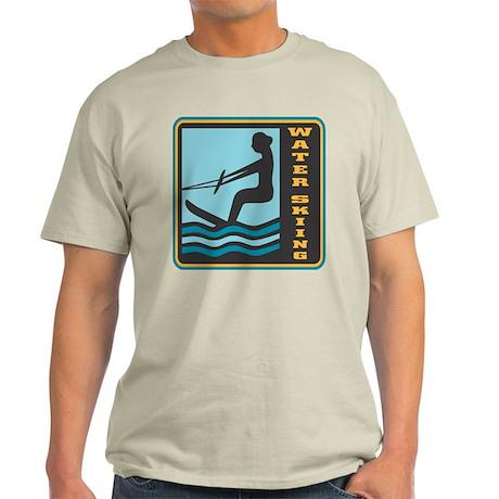 Waterskiing Logo Light T-Shirt