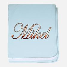 Cute Mikel baby blanket