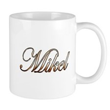 Gold Mikel Mugs