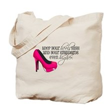 Cute High heels Tote Bag