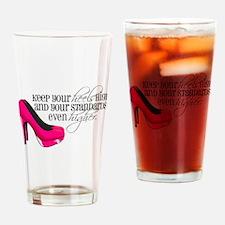 Cute Women Drinking Glass