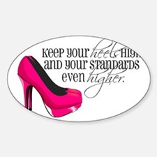 Unique High heels Sticker (Oval)