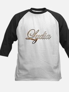 Gold Lydia Baseball Jersey
