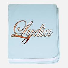 Cute Lydia baby blanket