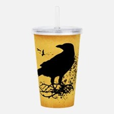 Nevermore Acrylic Double-wall Tumbler