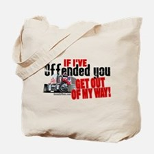 Trucker Offended Tote Bag