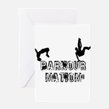 Parkour Nation Greeting Card