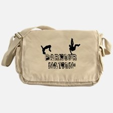 Parkour Nation Messenger Bag
