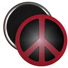 "Cute Peace symbol 2.25"" Magnet (10 pack)"