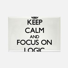 Keep Calm and focus on Logic Magnets