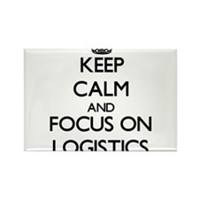 Keep Calm and focus on Logistics Magnets
