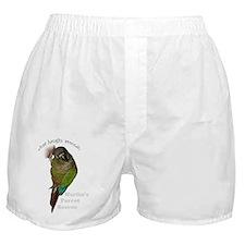 Cute Conure Boxer Shorts