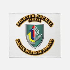 Fighter Nachal Throw Blanket