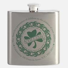 Cute Collins irish Flask