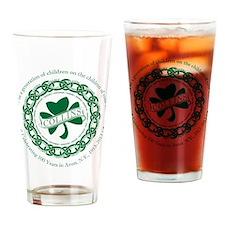 Cute Irish collins Drinking Glass