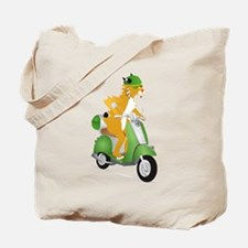 Gelato the Bobcat Tote Bag