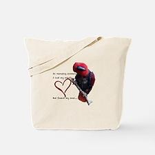 Unique Parrots Tote Bag
