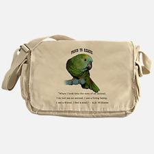 Unique Parrots Messenger Bag