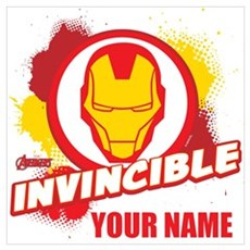 Avengers Assemble Iron Man Personalized Wall Art Poster