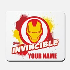 Avengers Assemble Iron Man Personalized Mousepad