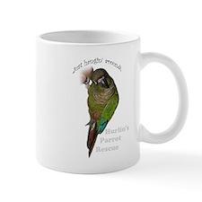 Unique Green cheek conure Mug