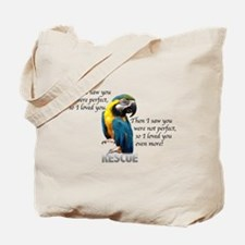 Unique Parrot Tote Bag