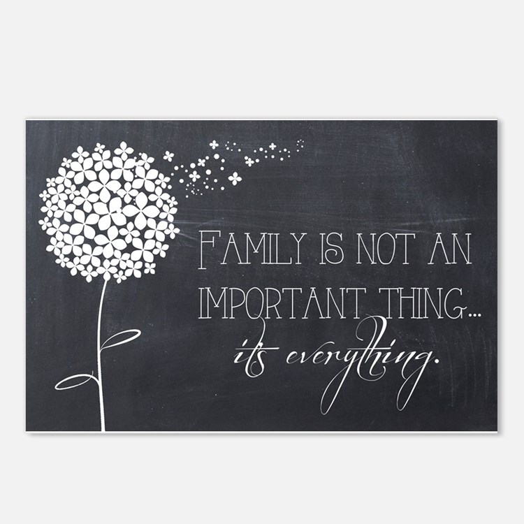 Cute Family Postcards (Package of 8)