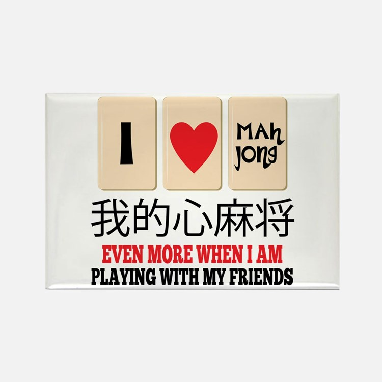 Mah Jong & Friends Magnets