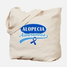 Alopecia Awareness logo Tote Bag