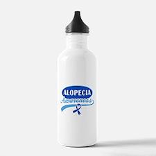 Alopecia Awareness logo Water Bottle