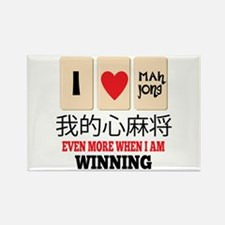 Mah Jong & WInning Magnets