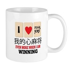 Mah Jong & WInning Mugs