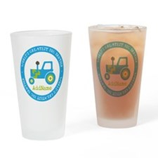 Big Brother Construction Drinking Glass