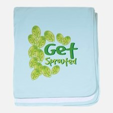 Get Sprouted baby blanket